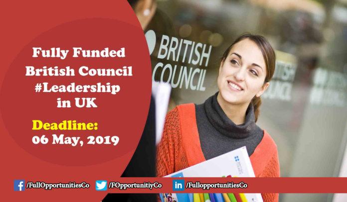 British Council Leadership Program in UK