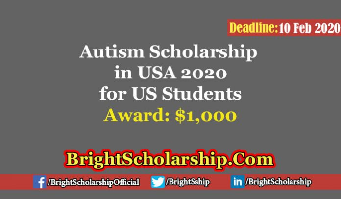 Autism Scholarship in USA 2020 for US Students