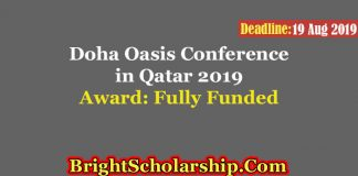 Doha Oasis Conference in Qatar 2019