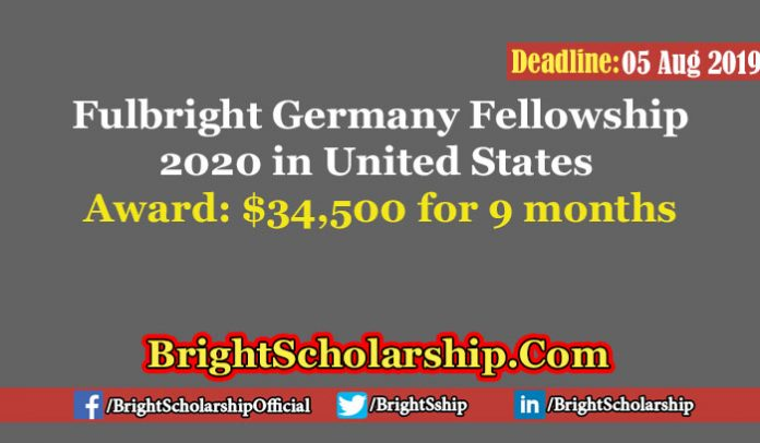 Fulbright Germany Fellowship 2020 in United States