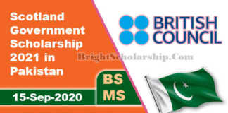 Scotland Government Scholarship 2021 for Pakistani Students (Fully Funded)