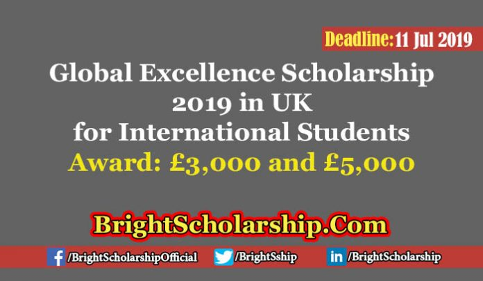 Global Excellence Award 2019 in United Kingdom