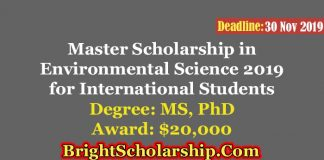 UC Sir Neil Isaac Scholarship in Environmental Science for International Students in New Zealand 2019