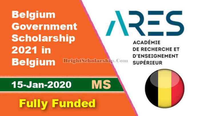 Belgium Government Scholarship 2021 for International Students (Fully Funded)