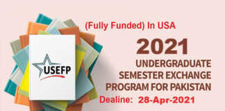 Global UGRAD Undergraduate Program 2021 in USA (Fully Funded)