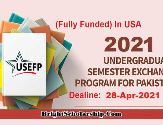 Global UGRAD Undergraduate Program 2021 in USA (Fully Funded)