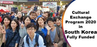 Winter Korea Cultural Exchange Program 2020 in South Korea