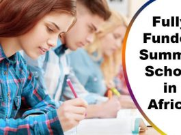 ACU Summer School 2020 in Africa (Fully Funded)