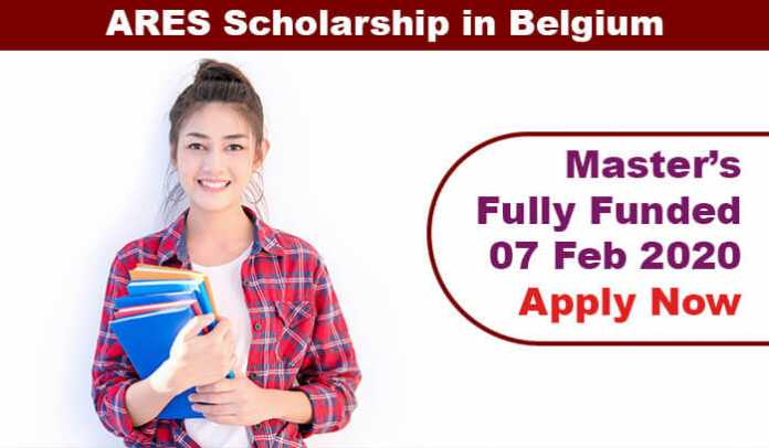 ARES Master Scholarship in Belgium 2020 (Fully Funded)