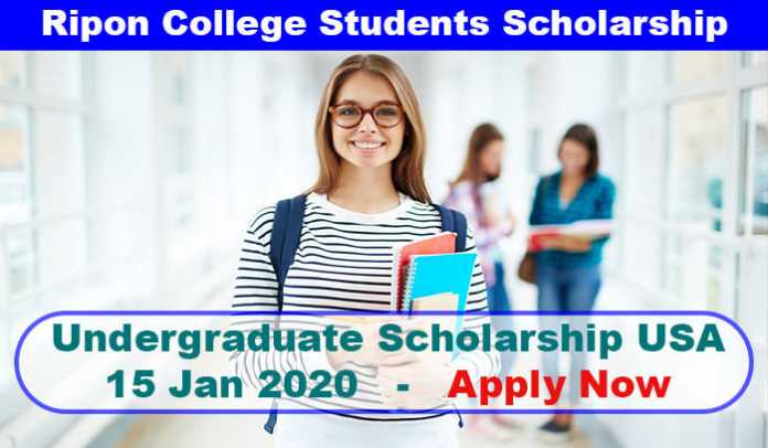 Ripon College International Students Award 2020 in USA
