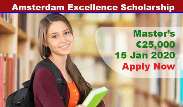 Amsterdam Excellence Scholarship 2020 in Netherlands