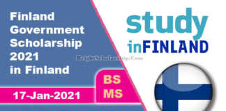 Finland Government Scholarship 2021 in Finland (Fully Funded)