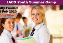 IACS Youth Summer Camp 2020 in Indonesia