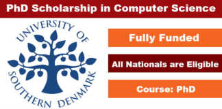 Industrial PhD Scholarship in Computer Science 2020