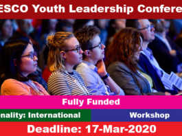 UNESCO Youth Leadership Workshop 2020 in South Korea