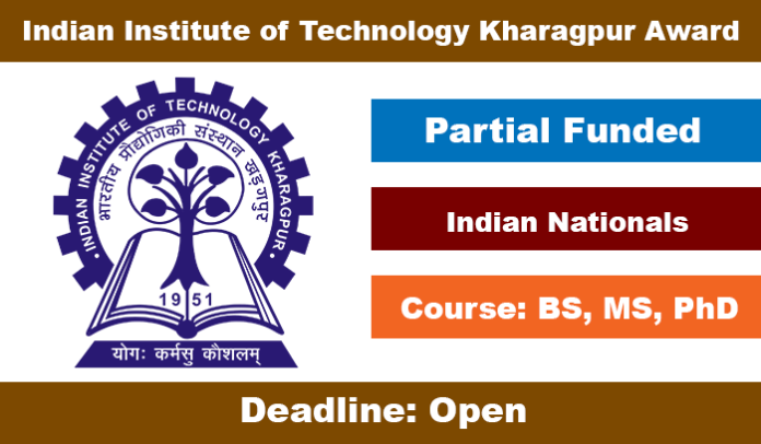 Indian Institute of Technology Kharagpur Scholarship 2020 in India