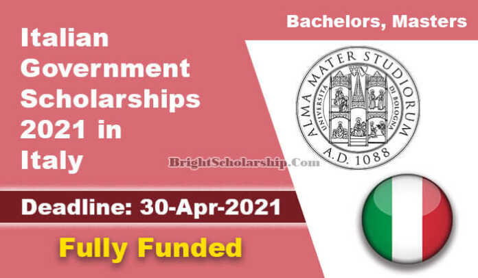 Italian Government Scholarships 2021 in Italy (Fully Funded)