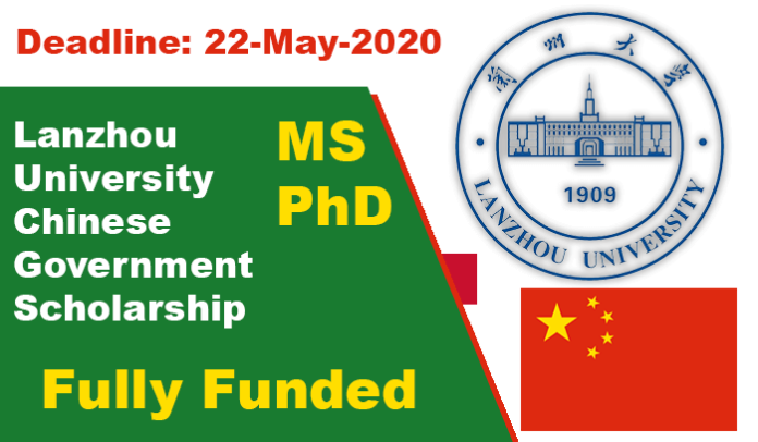 Lanzhou University Scholarship 2020 (Fully Funded) Chinese Government Scholarship