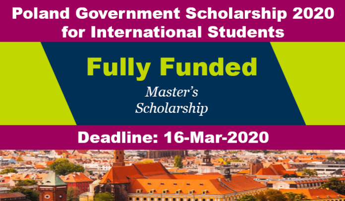 Poland Government Scholarship 2020 for International Students