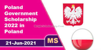 Poland Government Scholarship 2022 in Poland (Fully Funded)