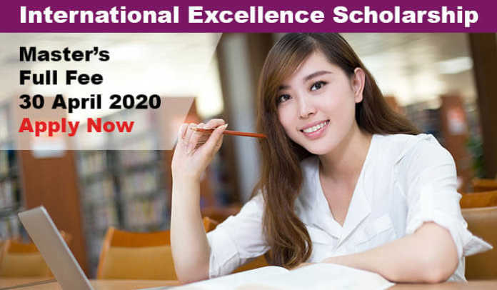 International Excellence Masters Scholarship 2020 in UK