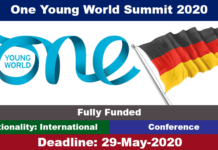 One Young World Summit 2020 in Germany