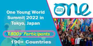 One Young World Summit 2022 in Tokyo (Fully Funded)