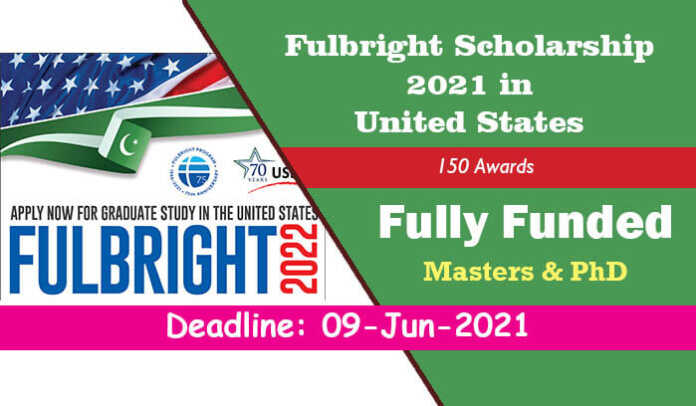 Fulbright Scholarship 2021 in United States (Fully Funded)
