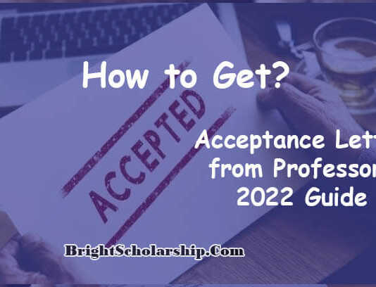 How to get Acceptance Letter from Professors 2022 Guide