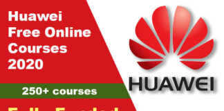 Huawei Free Online Courses 2020