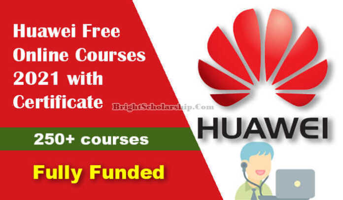 Huawei Free Online Courses 2021 with Certificate