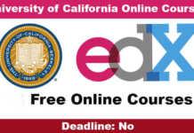 University of California Free Online Courses 2021