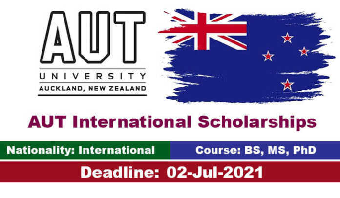 AUT International Scholarships 2022 in New Zealand (Funded)