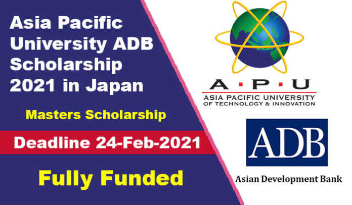 Asia Pacific University ADB Scholarship 2021 in Japan (Fully Funded)