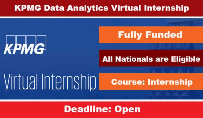 KPMG Data Analytics Virtual Internship 2020 for International Students