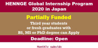 HENNGE Global Internship Program 2020 in Japan