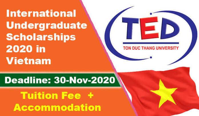 International Undergraduate Scholarships 2020 in Vietnam