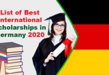 List of Best International Scholarships in Germany 2020
