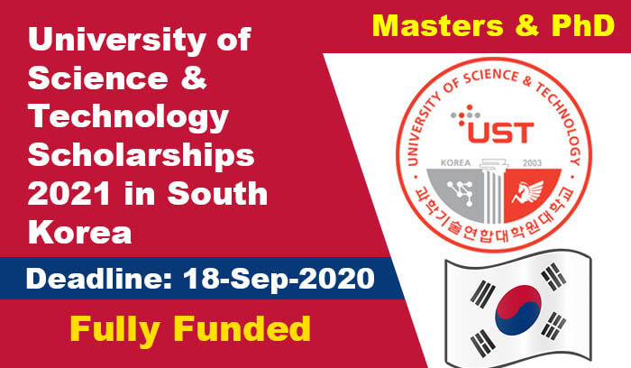 University of Science & Technology Scholarships 2021 in ...