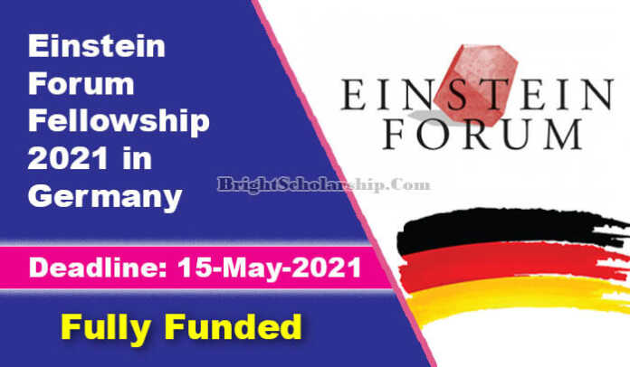 Einstein Forum Fellowship 2021 in Germany (Fully Funded)