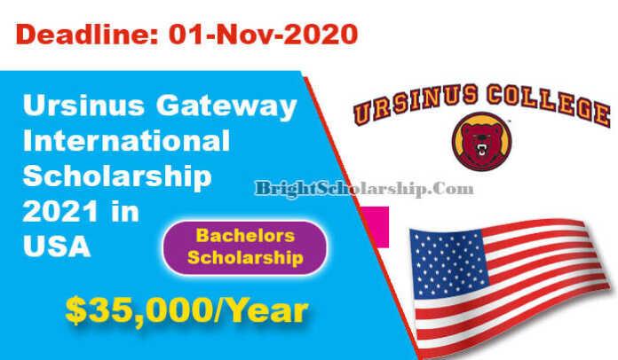 Ursinus Gateway International Scholarship 2021 in United ...