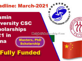 Renmin University CSC Scholarships 2021 in China (Fully Funded)