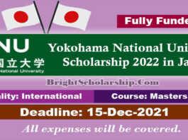 Yokohama National University Scholarship 2022 in Japan (Fully Funded)