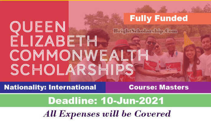 Queen Elizabeth Commonwealth Scholarship 2022 (Fully Funded)