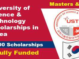 University of Science & Technology Scholarships 2022 in Korea (Fully Funded)