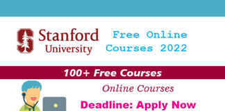 100+ Stanford University Free Online Courses 2022