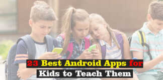 23 Best Android Apps for Kids to Teach Them