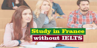 Study in France without IELTS – Fully Funded Scholarships