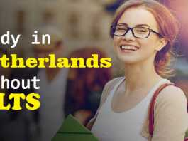 Study in Netherlands without IELTS – Fully Funded Scholarships